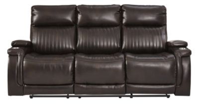 Ashley Team Time Power Motion Sofa with Drop Down Table