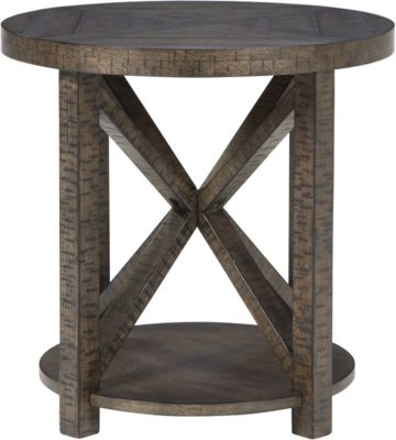 Ashley Jessoli Round End Table