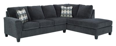 Ashley Abinger Smoke 2-Piece Sectional with Right-Facing