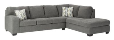 Ashley Dalhart Charcoal 2-Piece Sectional with Right-Faci