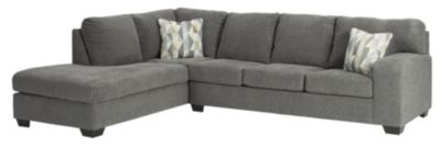 Ashley Dalhart Charcoal 2-Piece Sectional with Left-Facin