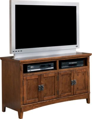 Ashley Cross Island TV Stand
