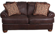Ashley Axiom 100% Leather Loveseat