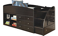 Ashley Embrace Storage Loft with Right Dresser/Bookcase