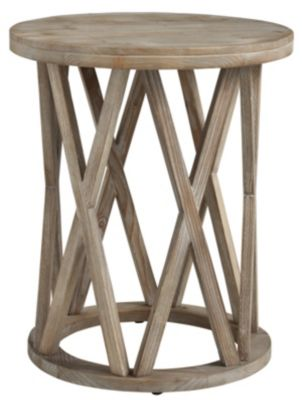 Ashley Glasslore Round End Table