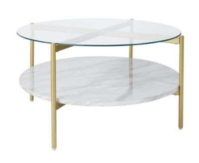 Ashley Wynora Round Cocktail Table