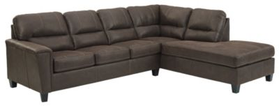 Ashley Navi 2-Piece Sectional with Left-Facing Sofa