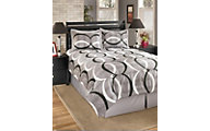 Ashley Primo Alloy 4-Piece Queen Comforter Set