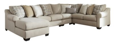 Ashley Ingleside 4-Piece Sectional with Left-Facing Chais