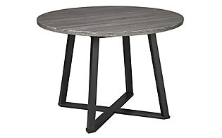 Ashley Centiar Gray Round Table