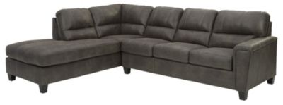 Ashley Navi Smoke 2-Piece Sectional with Right-Facing Sof
