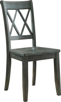 Ashley Mestler Blue Side Chair