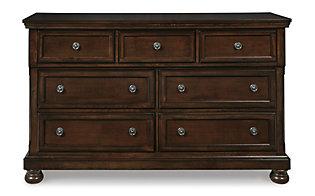 Ashley Porter 4-Piece King Storage Bedroom Set | Homemakers Furniture
