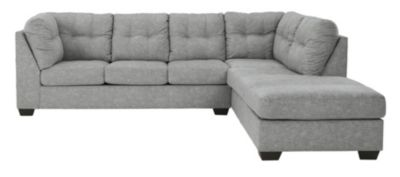 Ashley Falkirk Steel 2-Piece Sectional with Left-Facing S