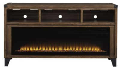 Ashley Todoe TV Stand with Fireplace