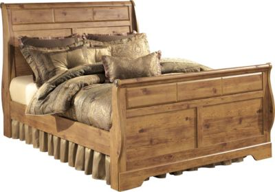 Ashley Bittersweet King Sleigh Bed