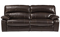 Ashley Damacio Leather Power Reclining Sofa