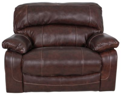 Ashley Damacio Leather Zero Wall Wide Recliner  sc 1 st  Homemakers Furniture & Ashley Damacio Leather Zero Wall Wide Recliner | Homemakers Furniture islam-shia.org