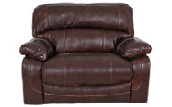 Ashley Damacio Leather Zero Wall Wide Recliner