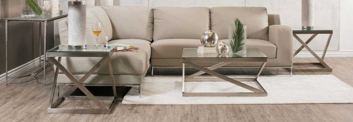 coffee tables, end tables and accent tables