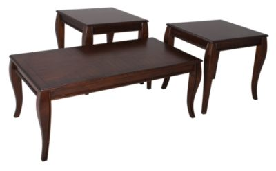 Ashley Mattie Coffee Table & 2 End Tables
