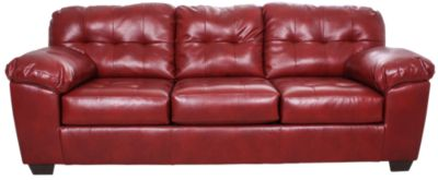 Ashley Alliston Salsa Bonded Leather Sofa