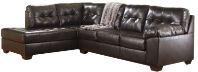 Ashley Alliston Collection Chocolate 2-Piece Sectional