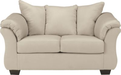 Ashley Darcy Collection Stone Loveseat