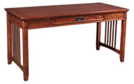 Ashley Cross Island Leg Desk