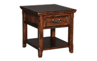 Ashley Woodboro Rectangle End Table With Drawer