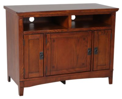 Ashley Cross Island Mission TV Stand