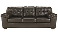 Ashley Alliston Chocolate Bonded Leather Sofa