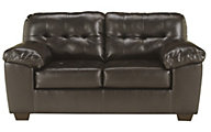 Ashley Alliston Chocolate Loveseat