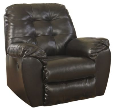 Ashley Alliston Chocolate Rocker Recliner