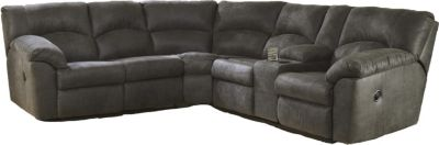 Ashley Tambo Pewter 2-Piece Reclining Sectional