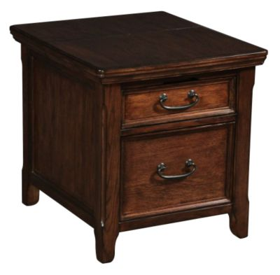 Ashley Woodboro Media End Table