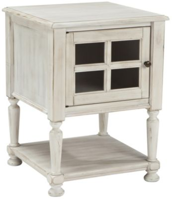Ashley Cottage Accents Storage End Table
