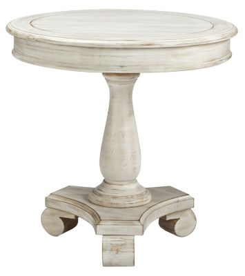 Ashley Cottage Accents Round Accent Table