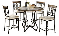 Ashley Hopstand 5-Piece Counter Set
