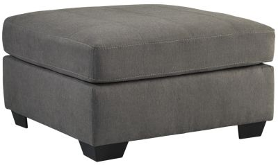 Ashley Maier Charcoal Cocktail Ottoman
