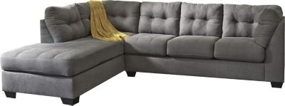 Ashley Maier Charcoal 2-Piece Sectional with Sleeper