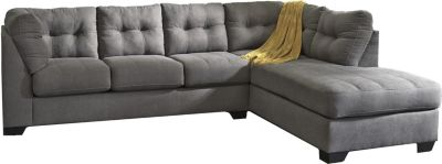 Ashley Maier Charcoal 2-Piece Sectional