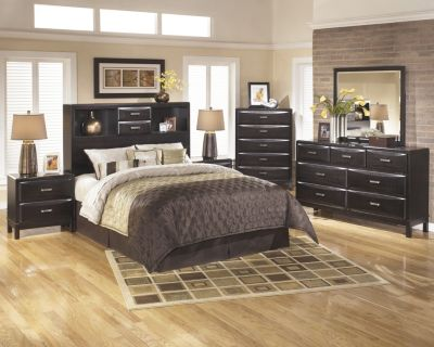 Ashley Kira 4-Piece Queen Headboard Bedroom Set