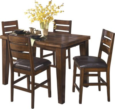 Elegant Ashley Larchmont 5 Piece Counter Set