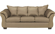 Ashley Darcy Microfiber Tan Full Sleeper