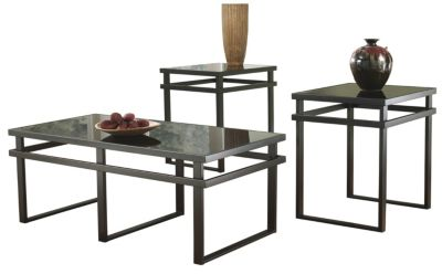Beautiful Ashley Laney Coffee Table U0026 2 End Tables