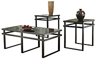 Ashley Laney Coffee Table & 2 End Tables