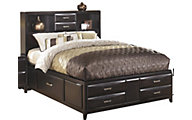 Ashley Kira Full Storage Bed