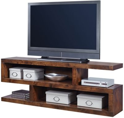 Aspen Contemporary Alder Open Console