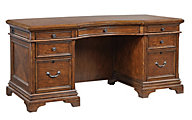 Aspen Hawthorne 66-Inch Executive Desk